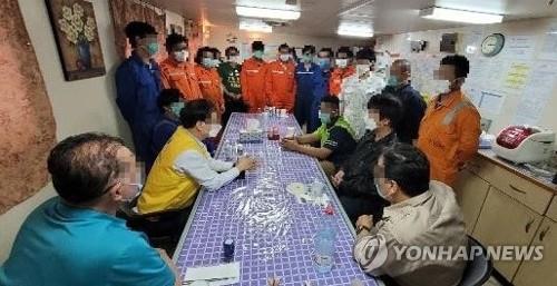 韓政府力爭節前協助部分被伊扣押船員回國