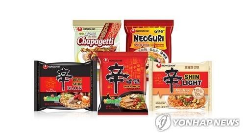 南韓速食麵去年出口破6億美元創新高