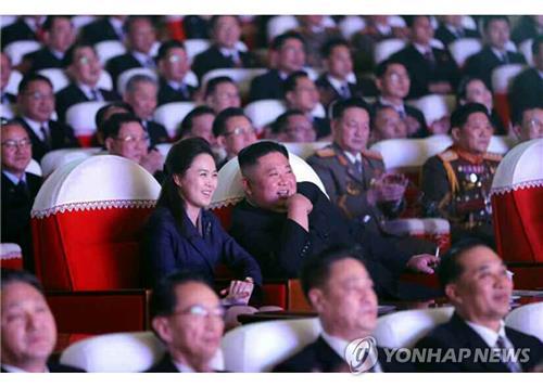 韓智庫:金正恩夫人李雪主未露面或因生產