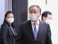 韓新任駐日大使接連會見日本政要