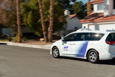 現代合資公司Motional在普通公路進行無人駕駛車輛試運作。 Motional供圖(圖片嚴禁轉載複製)