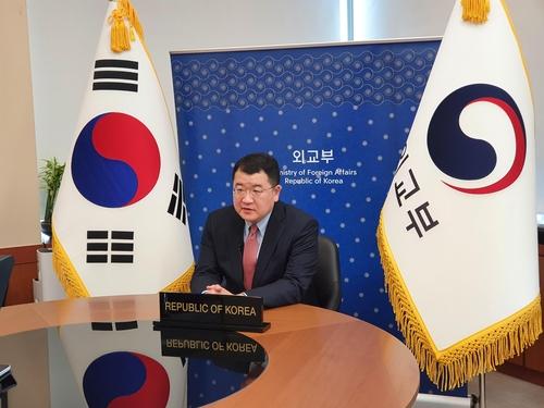 韓副外長在聯合國裁軍會議上吁朝重返對話