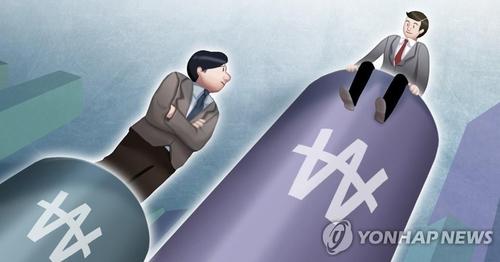統計:2019年南韓工薪族月均收入1.8萬元