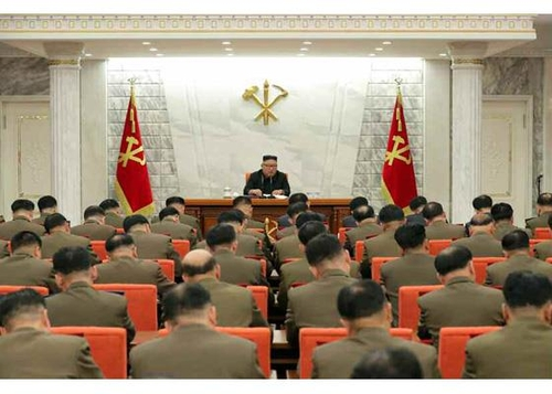 金正恩主持召開中央軍委擴大會議