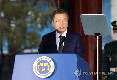 簡訊:文在寅吁朝鮮加入東北亞抗疫合作機制