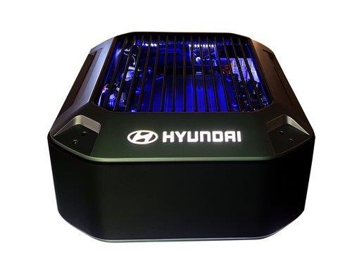 現代汽車氫燃料電池 現代汽車供圖(圖片嚴禁轉載複製)