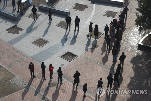 韓東豆川市對轄區外籍勞工全員進行新冠檢測
