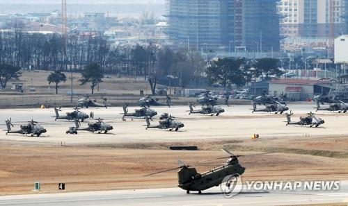 韓美聯演將部分實施未來聯合司戰區作戰預演