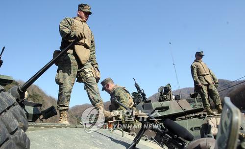 南韓防部:韓美野外機動訓練年內分批進行