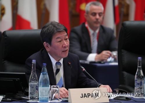 日外相回復韓外長東日本大地震慰問信