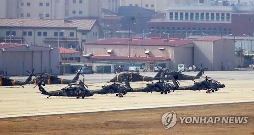 韓美上半年聯合指揮所演習今將結束