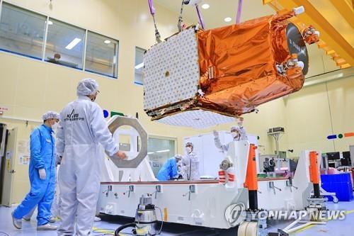 南韓自主研發新一代中型衛星發射升空
