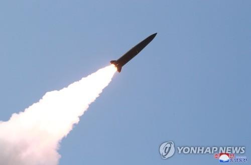 消息:朝鮮最近所射導彈為近程巡航導彈