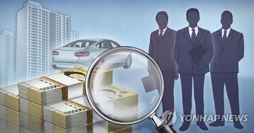 韓政府高級公職人員平均財產為814萬元
