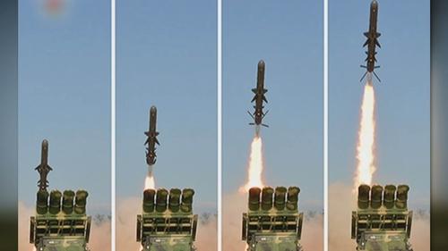 詳訊:朝鮮發射兩枚彈道導彈 射程450公里