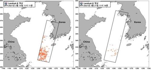南韓加強監測中國東部海域銅藻流入動向