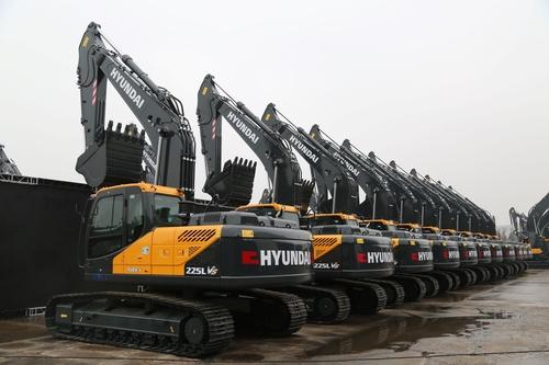 現代建設機械承攬公司史上在華最大訂單