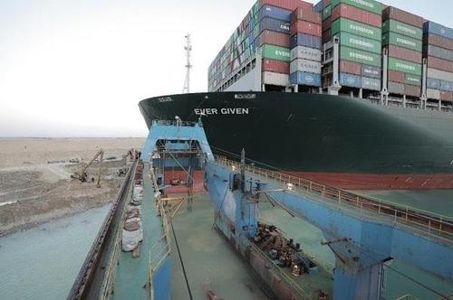 蘇伊士運河復航 韓籍船舶即將通行