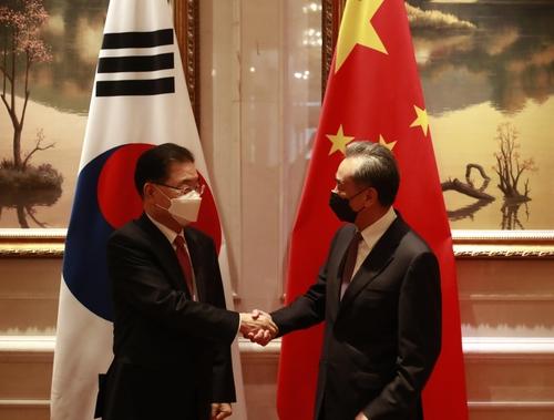 韓中外長在廈門舉行會談