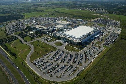 資料圖片:三星電子美國奧斯汀工廠 三星電子供圖(圖片嚴禁轉載複製)