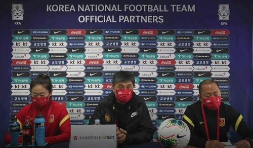 中國女足主帥:打贏奧預賽附加賽沒有太大困難