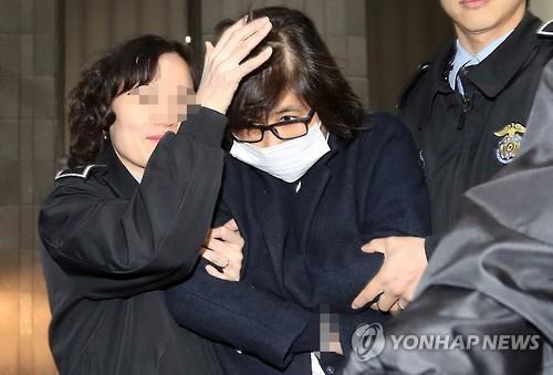 韓親信干政案主犯控告所在看守所員工性騷擾