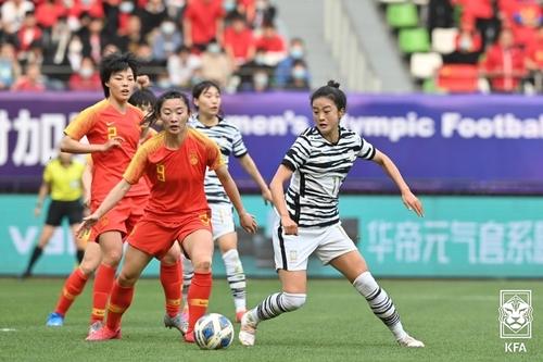 韓女足不敵中國未能晉級東京奧運