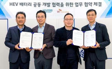現代起亞和SK創新將攜手研發動力電池