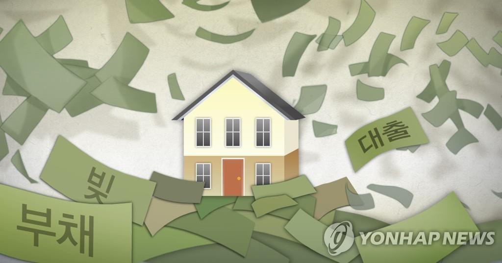 報告:去年南韓家庭收入減少負債增多