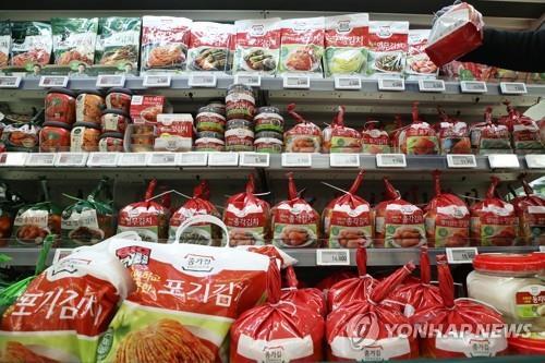 南韓首季泡菜出口創歷史新高