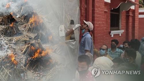 旅印韓僑累計確診新冠超120例