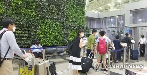 旅印韓僑首批173人乘機回國