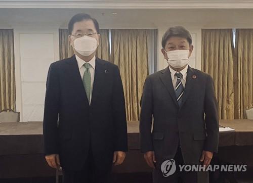 詳訊:韓日外長在倫敦舉行雙邊會談