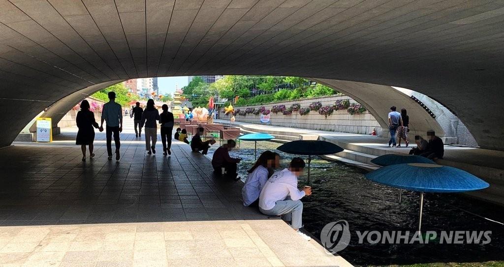 韓今最高氣溫超30度創今年來最高紀錄