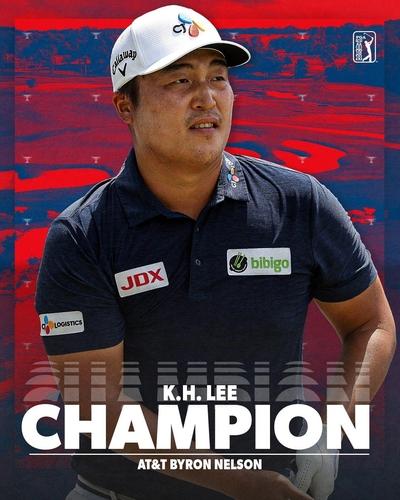 南韓高球手李京勳奪美巡首冠