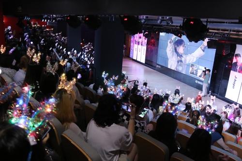 南韓觀光公社在華辦防彈慶典宣傳南韓旅遊
