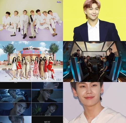 一週韓娛:防彈新歌連續兩周登頂公告牌 EXO發特輯
