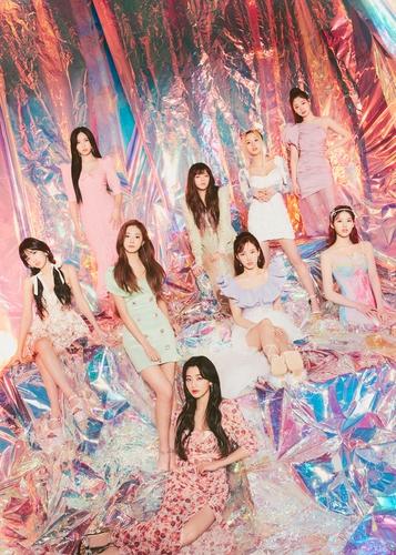 女團TWICE JYP娛樂供圖(圖片嚴禁轉載複製)
