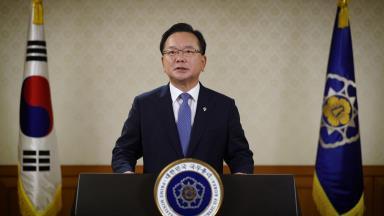 南韓務總理出席聯合國全球契約組織視頻會議