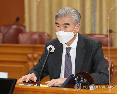 美國公佈對朝代表星·金訪韓消息