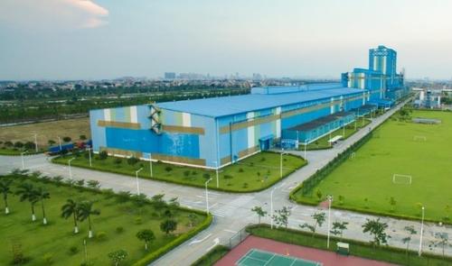資料圖片:POSCO旗下廣東熱鍍鋅工廠(CGL) 韓聯社/POSCO供圖(圖片嚴禁轉載複製)