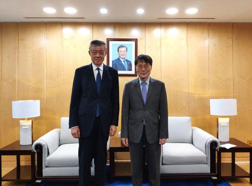 中國對朝代表建黨節前會見南韓駐華大使