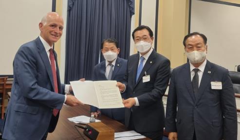 南韓國會訪美團向美方闡明韓方就聯演的立場