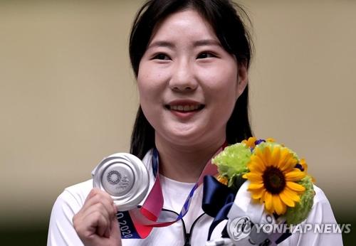 詳訊:韓選手金珉靜斬獲東奧女子25米手槍銀牌