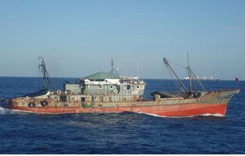 南韓向中國引渡疑在朝鮮海域非法捕撈漁船
