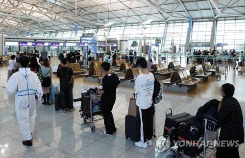 3名自韓來青航班旅客確診新冠