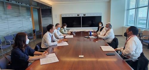 韓負責核不擴散事務官員會見聯合國裁軍代表