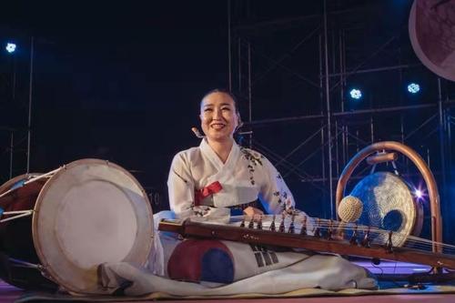 南韓傳統音樂家將在中國中央音樂學院執教