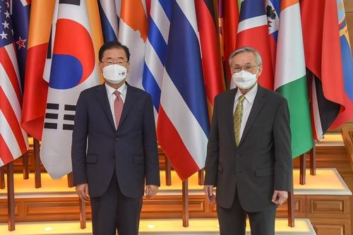 韓泰外長在曼谷舉行會談