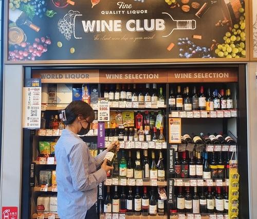 韓各大便利店葡萄酒銷售紛紛刷新最高紀錄